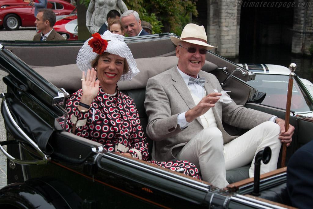 Hispano Suiza H6B Hibbard & Darrin Cabriolet de Ville    - 2013 Concorso d'Eleganza Villa d'Este