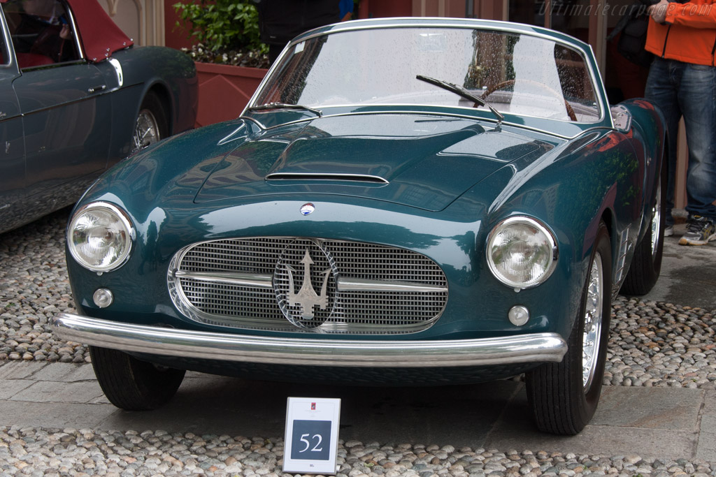 Maserati A6G/54 2000 Zagato Spider    - 2013 Concorso d'Eleganza Villa d'Este