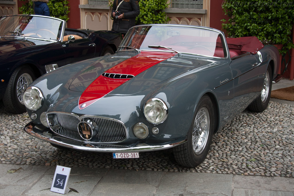 Maserati A6G54 Frua Cabriolet - Chassis: 2182   - 2013 Concorso d'Eleganza Villa d'Este