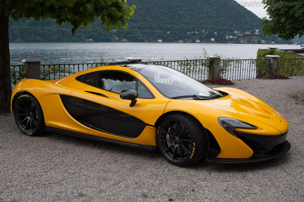 McLaren P1    - 2013 Concorso d'Eleganza Villa d'Este