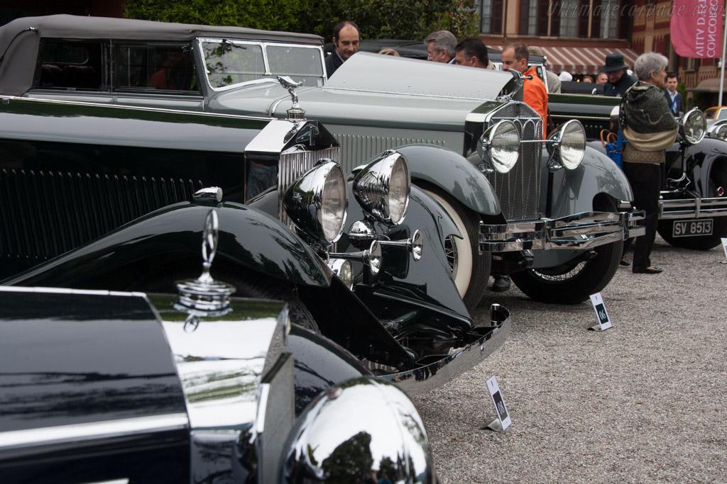 Rolls-Royce Phantom II Continental Gurney Nutting Sedanca    - 2013 Concorso d'Eleganza Villa d'Este