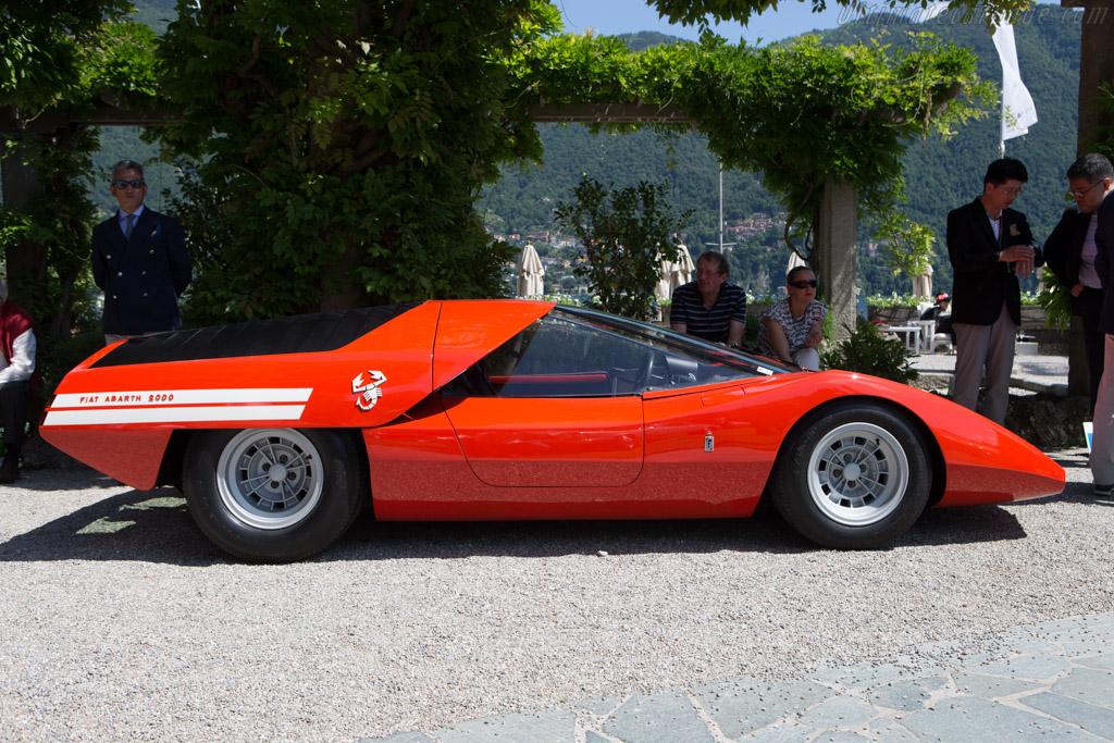 Abarth 2000 Pininfarina Scorpione - Chassis: 010-0011 - Entrant: Shiro Kosaka  - 2014 Concorso d'Eleganza Villa d'Este