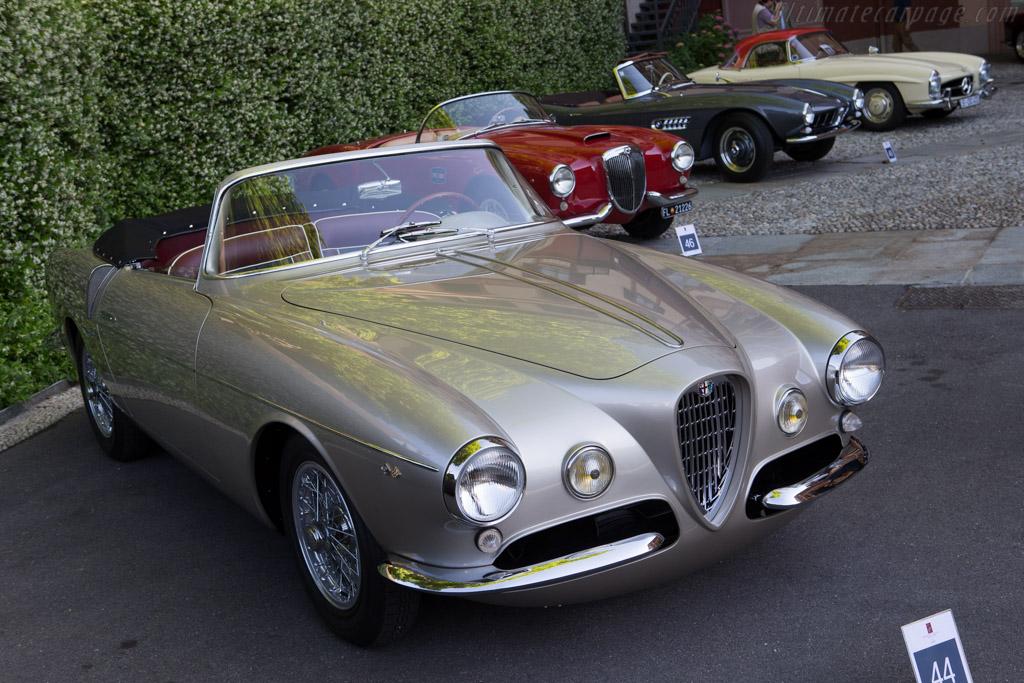 Alfa Romeo 1900C SS Ghia Aigle Cabriolet - Chassis: AR1900C 01959 - Entrant: Stephan Bruno  - 2014 Concorso d'Eleganza Villa d'Este