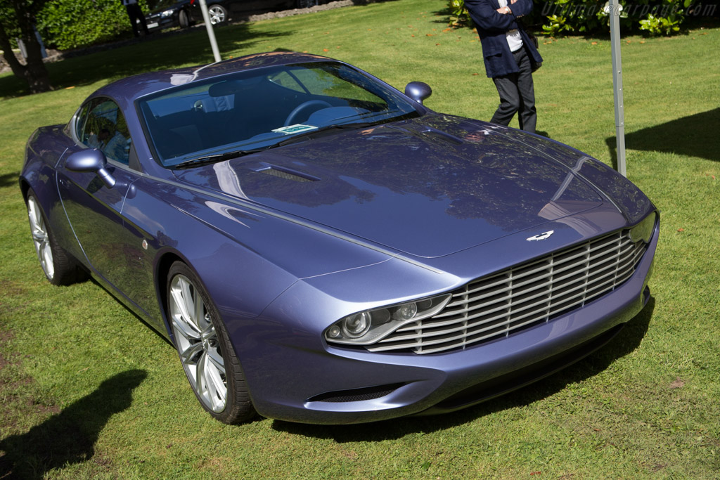 Aston Martin DBS Zagato Centennial Coupe  - Entrant: Andrea Zagato  - 2014 Concorso d'Eleganza Villa d'Este