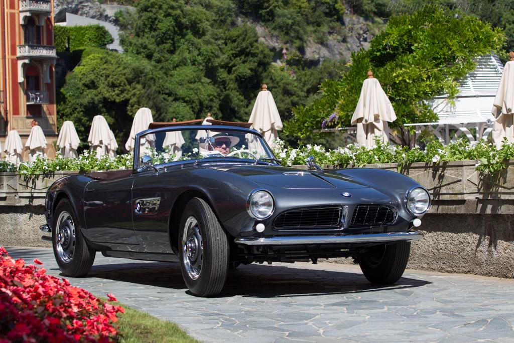 BMW 507 Roadster - Chassis: 70048 - Entrant: Jeffrey Lotman  - 2014 Concorso d'Eleganza Villa d'Este