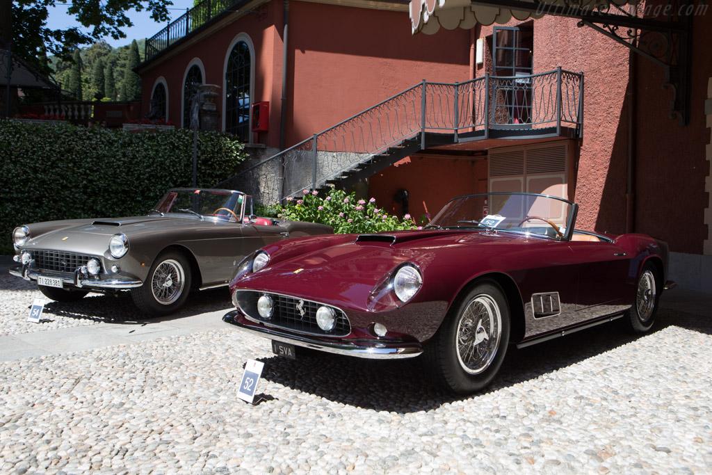 Ferrari 250 GT LWB California Spider - Chassis: 1203GT - Entrant: Sarah Allen  - 2014 Concorso d'Eleganza Villa d'Este