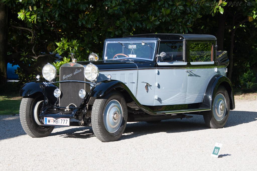 Hispano Suiza H6B Chapron Sedanca Landaulet - Chassis: 10479 - Entrant: Alexander Schauffler  - 2014 Concorso d'Eleganza Villa d'Este
