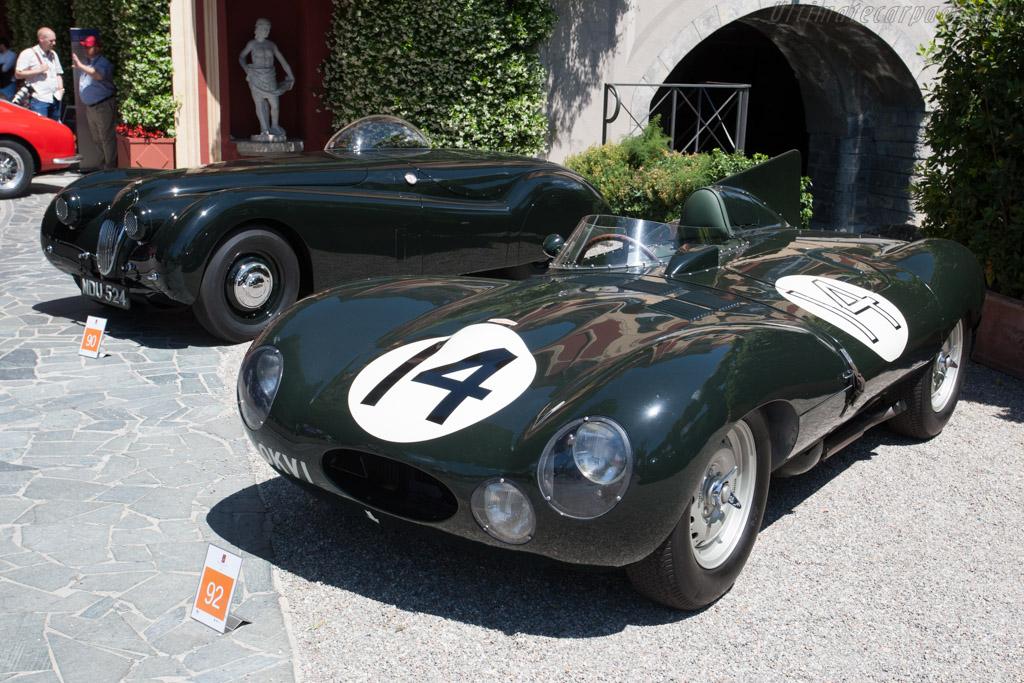 Jaguar D-Type - Chassis: XKC 402 - Entrant: Peter Neumark  - 2014 Concorso d'Eleganza Villa d'Este
