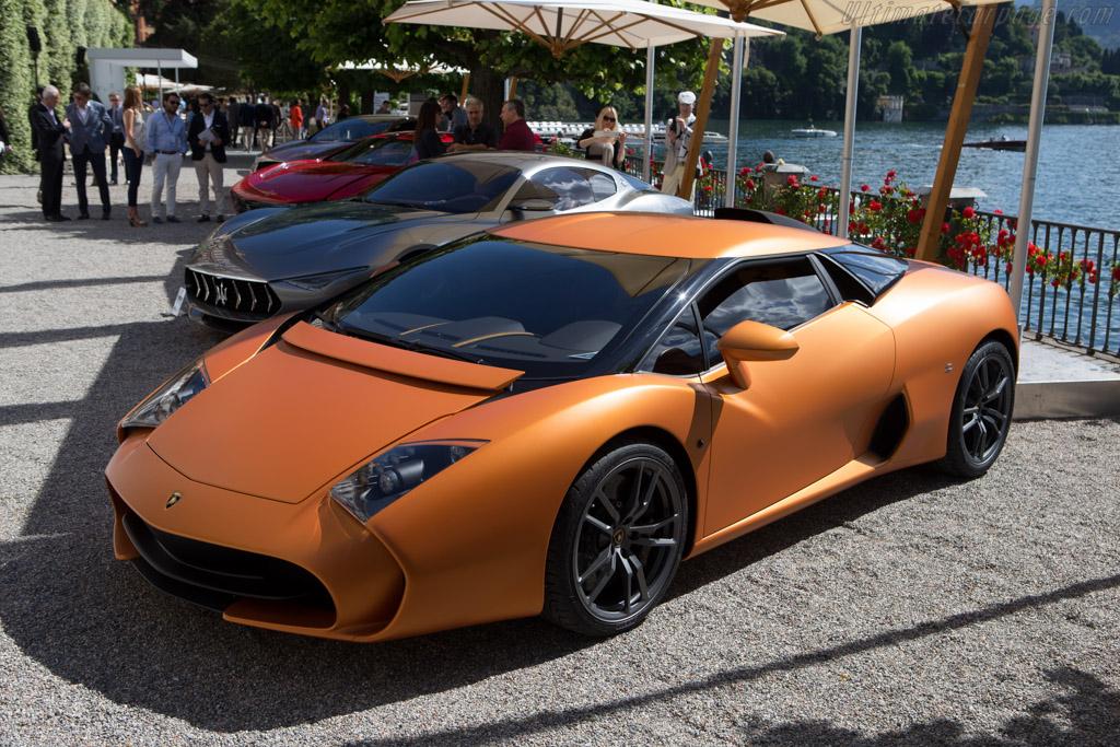 Lamborghini 5-95 Zagato Coupe  - Entrant: Albert Spiess  - 2014 Concorso d'Eleganza Villa d'Este