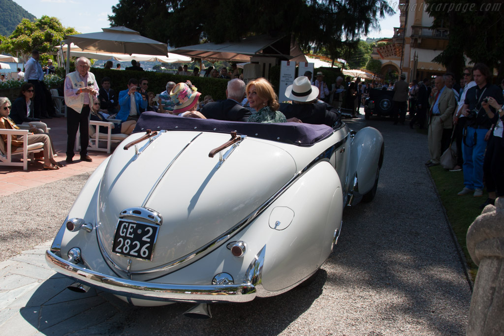 Lancia Astura Pinin Farina Cabriolet - Chassis: 33-5313 - Entrant: Orin Smith  - 2014 Concorso d'Eleganza Villa d'Este