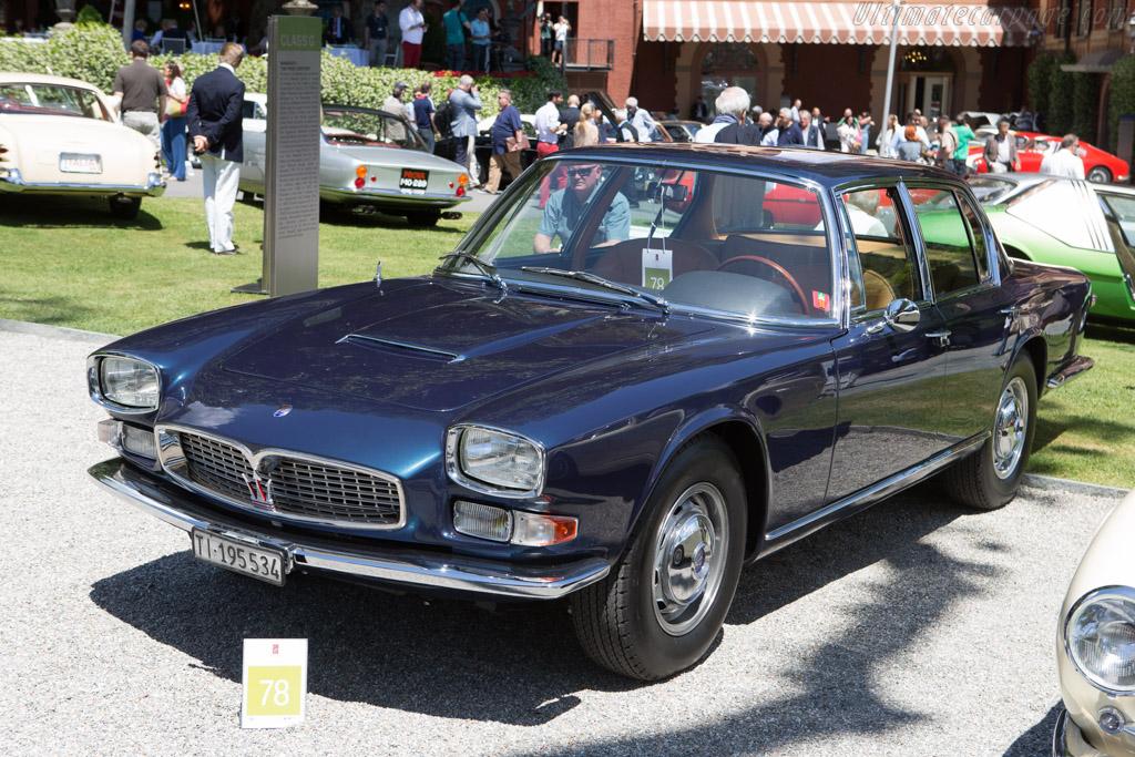 Maserati Quattroporte - Chassis: AM107-466 - Entrant: Ermanno Keller  - 2014 Concorso d'Eleganza Villa d'Este