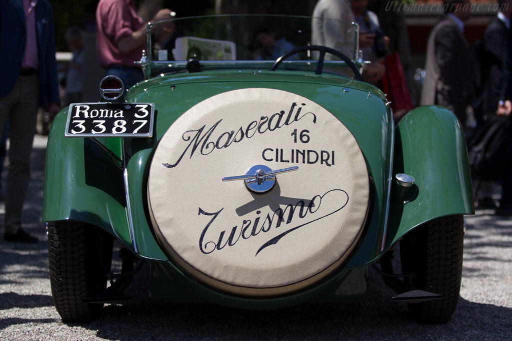 Maserati V4 Zagato Spider - Chassis: 4002 - Entrant: Lawrence Auriana  - 2014 Concorso d'Eleganza Villa d'Este