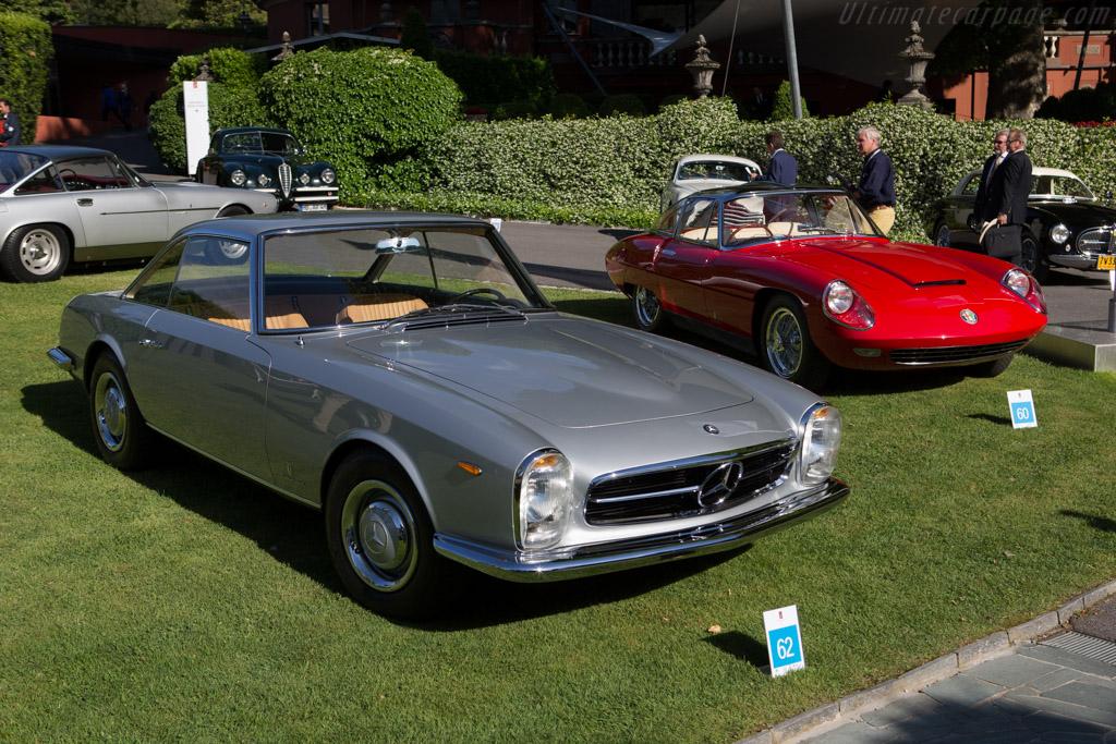 Mercedes-Benz 230 SL Pininfarina Coupe - Chassis: 113.042-10-001336 - Entrant: Russel Hook  - 2014 Concorso d'Eleganza Villa d'Este