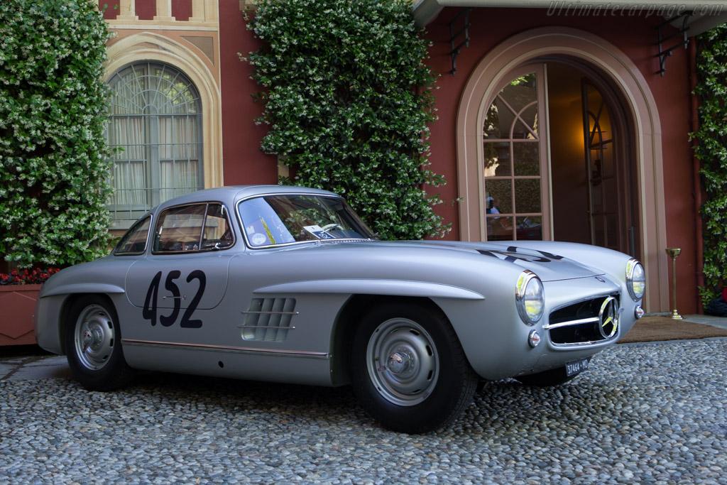 Mercedes-Benz 300 SL Alloy Coupe - Chassis: 198.043.5500483 - Entrant: Bernardo Hartogs  - 2014 Concorso d'Eleganza Villa d'Este