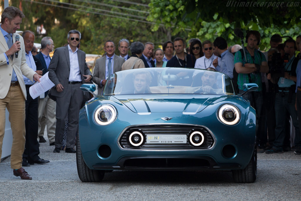 Mini Superleggera Vision  - Entrant: BMW Group  - 2014 Concorso d'Eleganza Villa d'Este