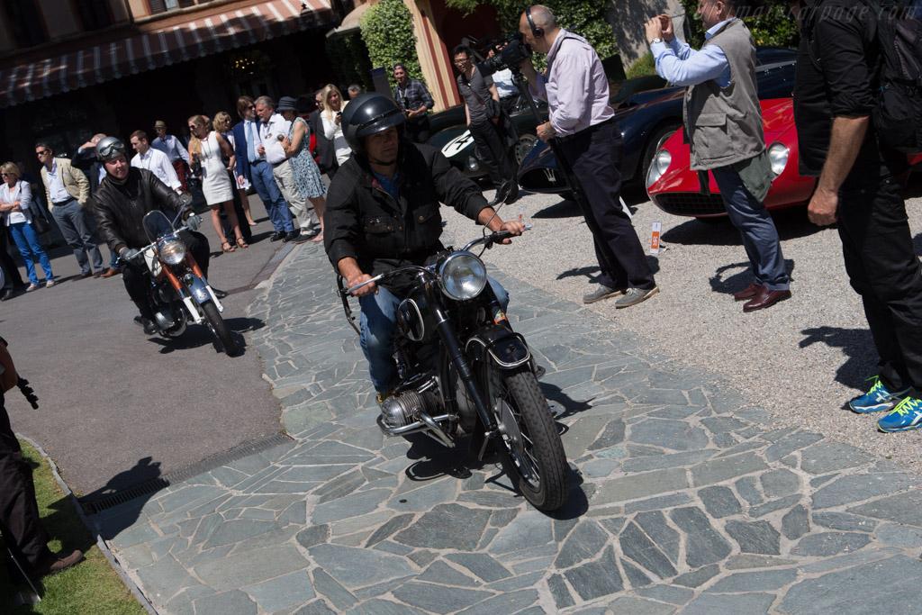 Motorcycle parade    - 2014 Concorso d'Eleganza Villa d'Este