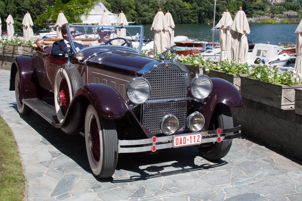 Packard 640 Custom Eight Roadster - Chassis: 176052 - Entrant: Roland d'Ieteren  - 2014 Concorso d'Eleganza Villa d'Este