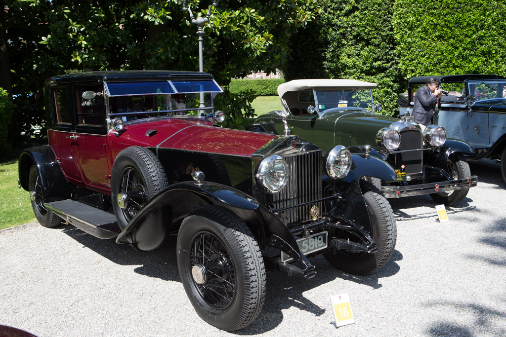 Rolls-Royce Phantom I Hooper Saloon - Chassis: 91EH - Entrant: Knud Sassmannshausen  - 2014 Concorso d'Eleganza Villa d'Este