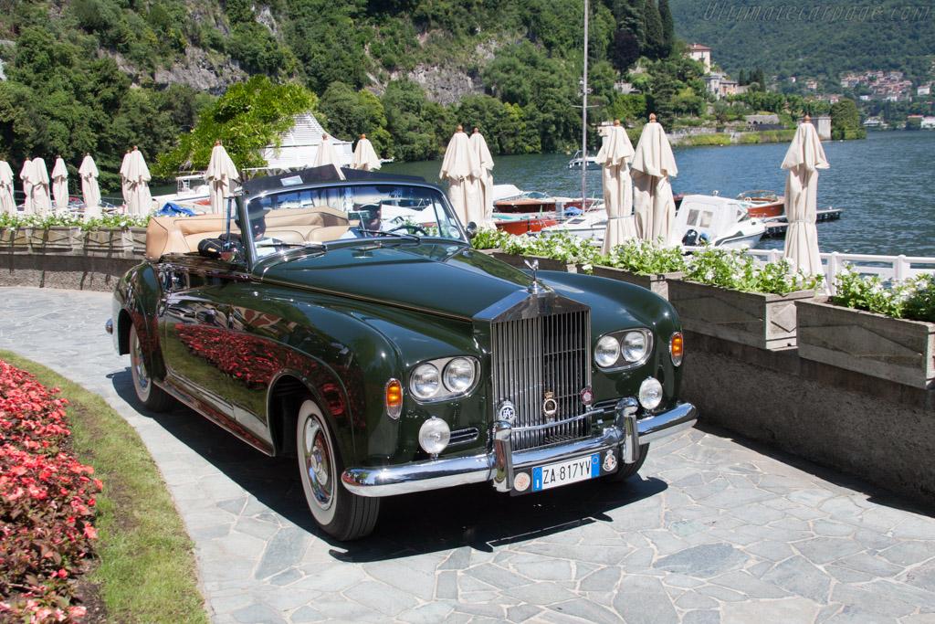 Rolls-Royce Silver Cloud III Mulliner DHC - Chassis: LSCX158 - Entrant: Paolo Bianchi  - 2014 Concorso d'Eleganza Villa d'Este