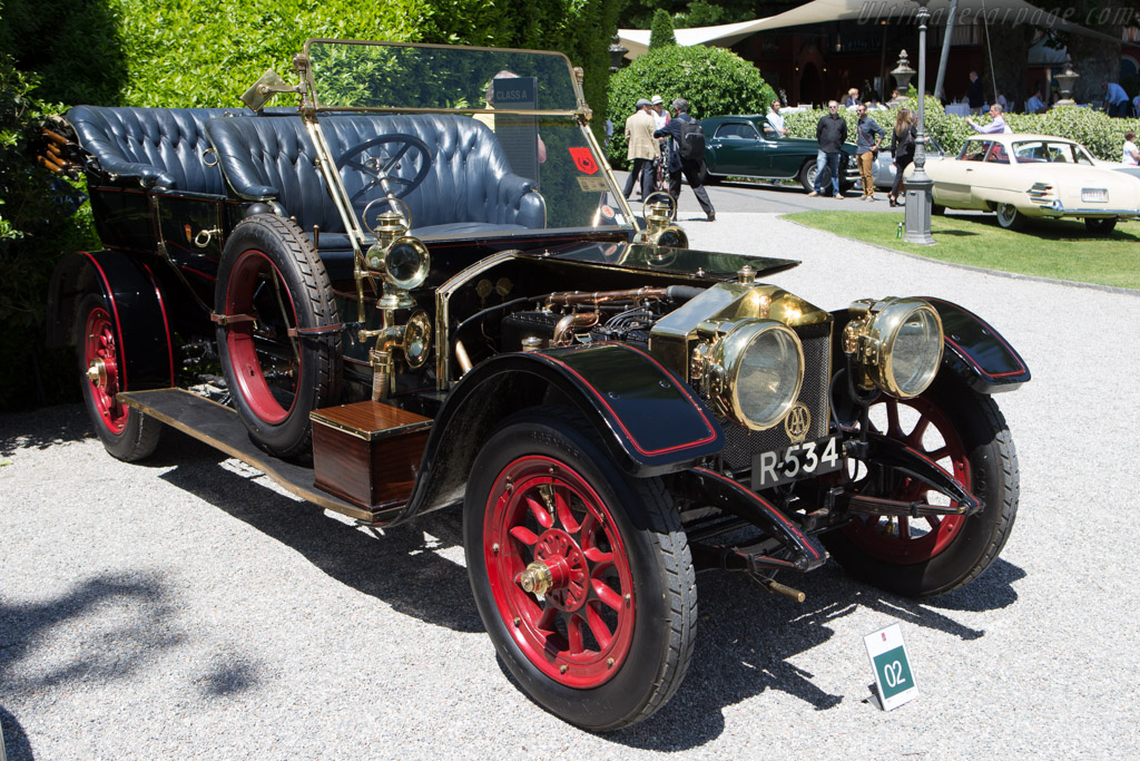 Rolls-Royce Silver Ghost Barker Roi des Belges - Chassis: 750 - Entrant: Mark de Ferranti  - 2014 Concorso d'Eleganza Villa d'Este