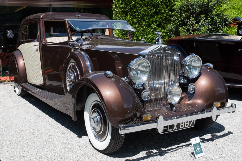 Rolls-Royce Wraith Park Ward Sedanca de Ville - Chassis: WXA107 - Entrant: Norbert Seeger  - 2014 Concorso d'Eleganza Villa d'Este