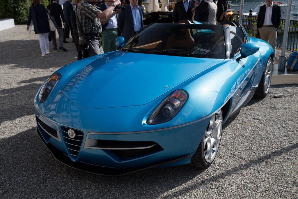 Alfa Romeo Disco Volante Touring Spider  - Entrant: Touring Superleggera  - 2016 Concorso d'Eleganza Villa d'Este