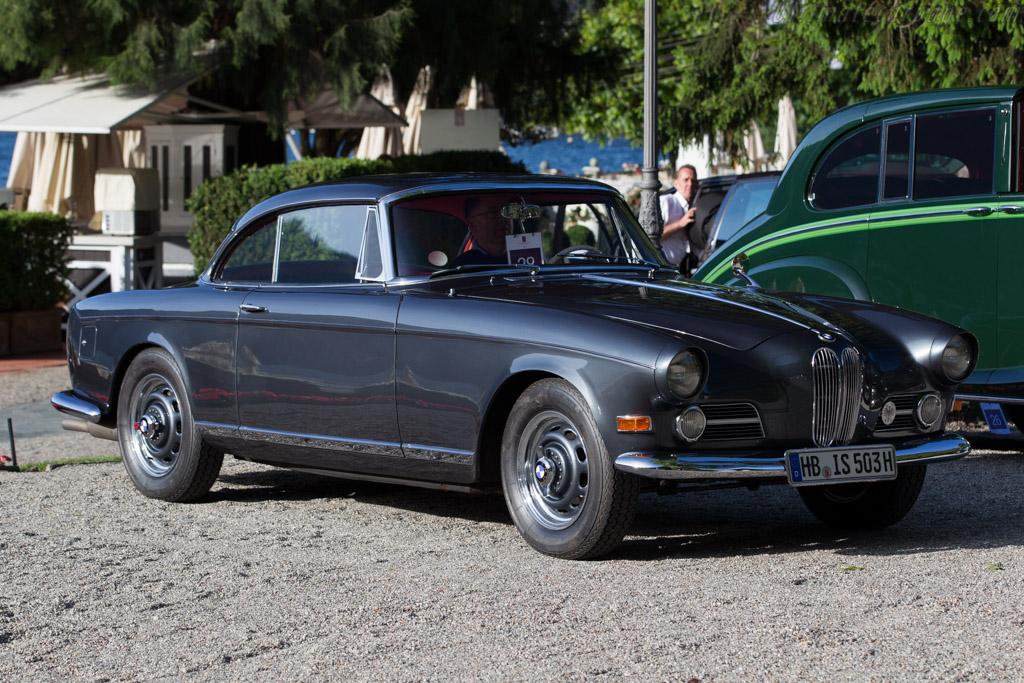 BMW 503 - Chassis: 69023 - Entrant: Heiko Seekamp  - 2016 Concorso d'Eleganza Villa d'Este
