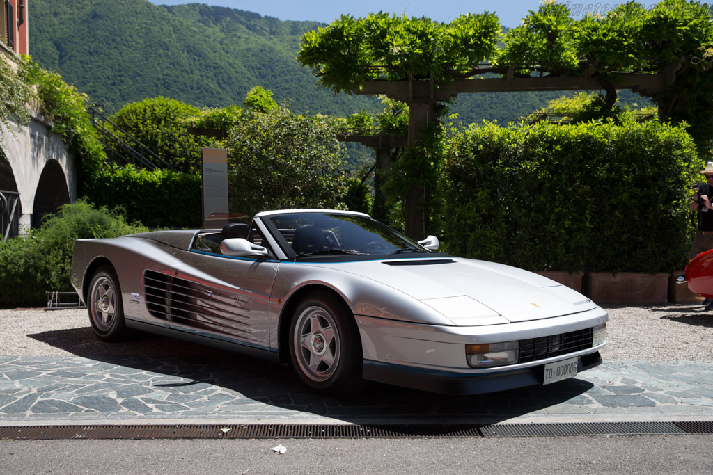 Ferrari Testarossa Spider - Chassis: 62897 - Entrant: Ronald Stern  - 2016 Concorso d'Eleganza Villa d'Este