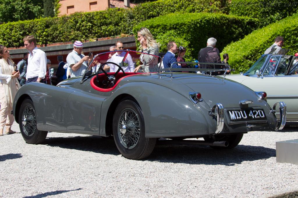 Jaguar XK120 Roadster - Chassis: 672282 - Entrant: Oliver Wittibschlager  - 2016 Concorso d'Eleganza Villa d'Este