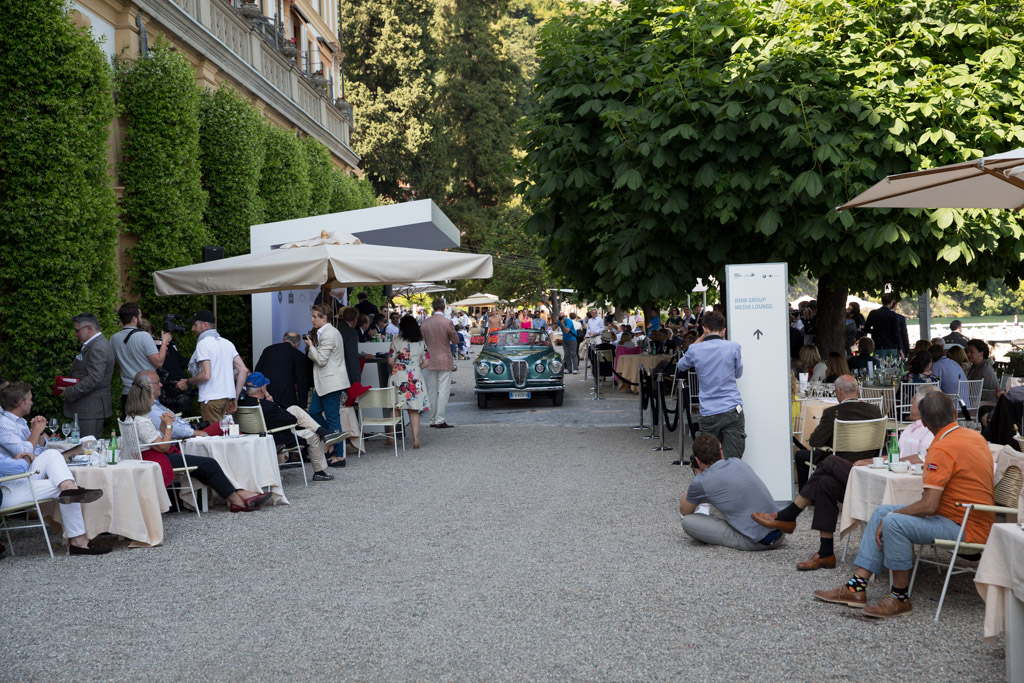 Lancia Aurelia B52 Vignale Cabriolet - Chassis: B52-1097 - Entrant: Paolo Caldini  - 2016 Concorso d'Eleganza Villa d'Este