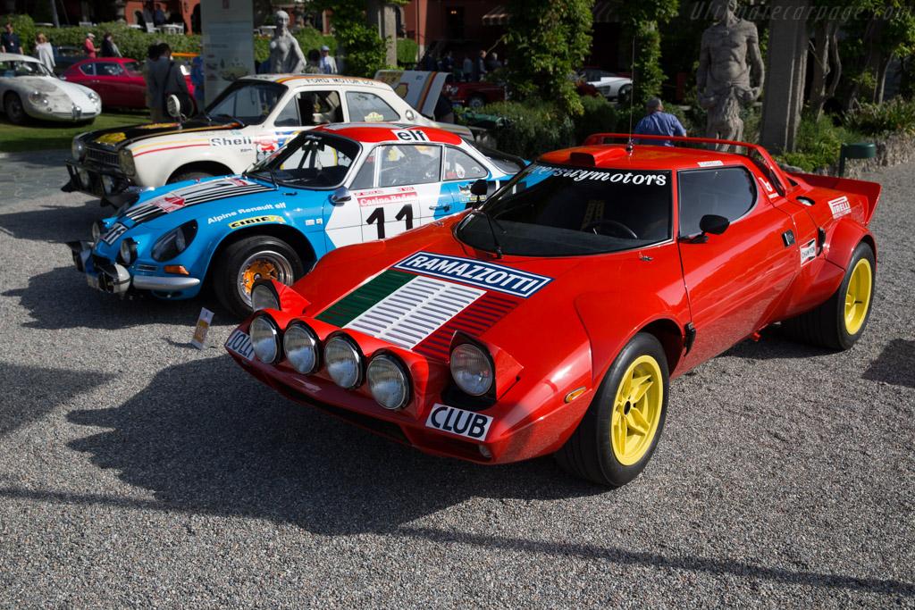 Lancia Stratos HF - Chassis: 829AR0 001781 - Entrant: Marco Magnani  - 2016 Concorso d'Eleganza Villa d'Este