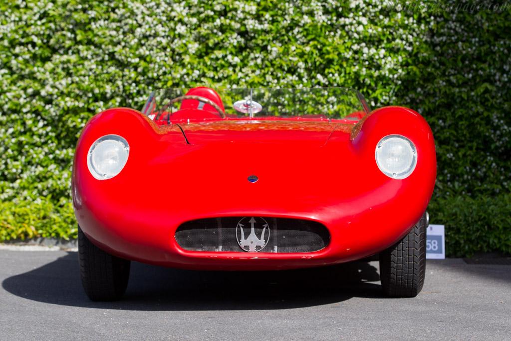 Maserati 200S - Chassis: 2413 - Entrant: Egon Zweimuller  - 2016 Concorso d'Eleganza Villa d'Este