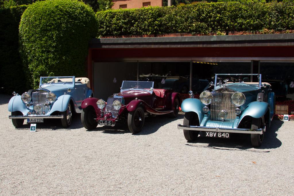 Rolls-Royce Phantom II Continental Hooper Convertible - Chassis: 7RY - Entrant: Michel Doret  - 2016 Concorso d'Eleganza Villa d'Este