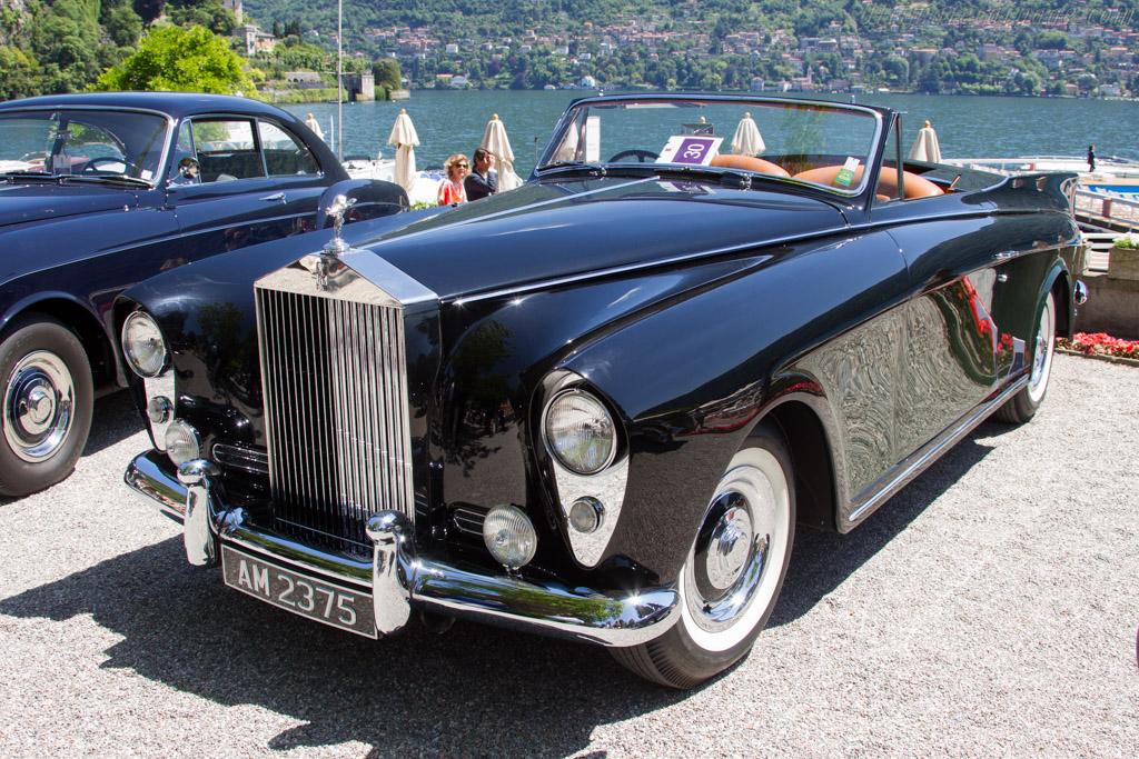 Rolls-Royce Silver Cloud Freestone & Webb Convertible - Chassis: SGE270 - Entrant: Orin Smith  - 2016 Concorso d'Eleganza Villa d'Este