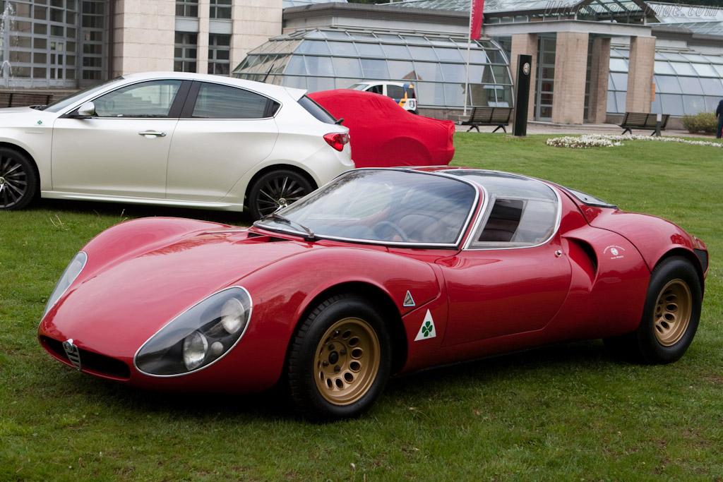 Alfa Romeo 33 Stradale    - 2010 Concorso d'Eleganza Villa d'Este