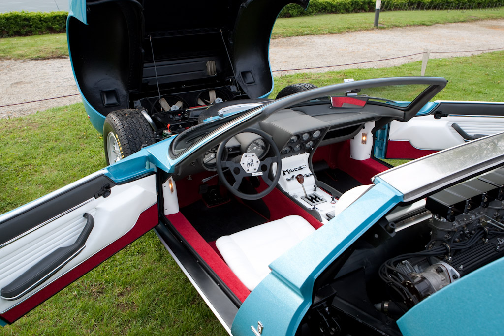 Lamborghini Miura Roadster - Chassis: 3498   - 2010 Concorso d'Eleganza Villa d'Este