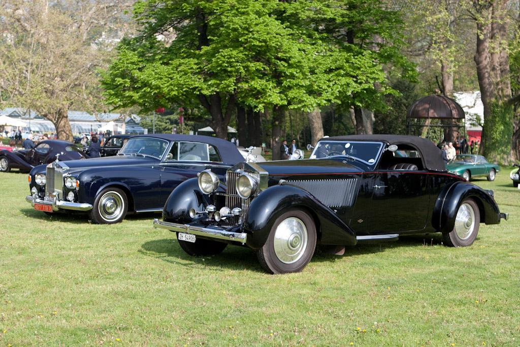 Two Rolls-Royces    - 2010 Concorso d'Eleganza Villa d'Este