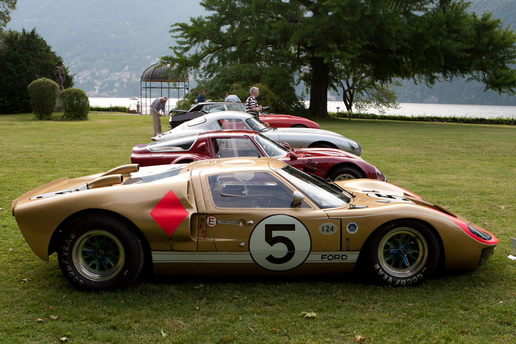 Ford GT40 Mk2 - Chassis: GT40P/1016 - 2011 Concorso d ...