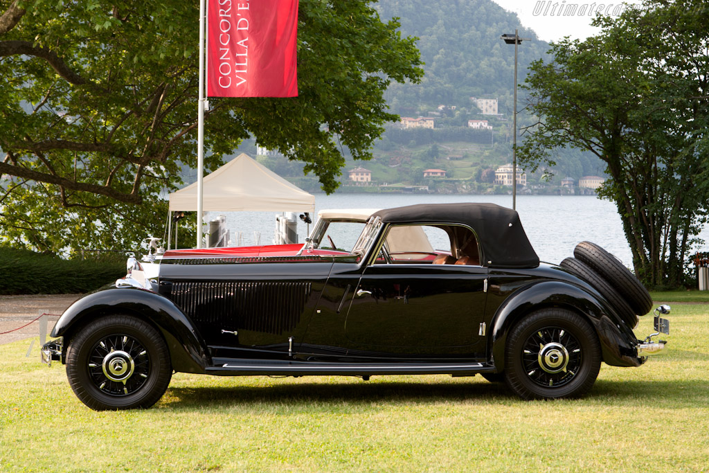 Mercedes-Benz 380K Cabriolet - Chassis: 95363   - 2011 Concorso d'Eleganza Villa d'Este