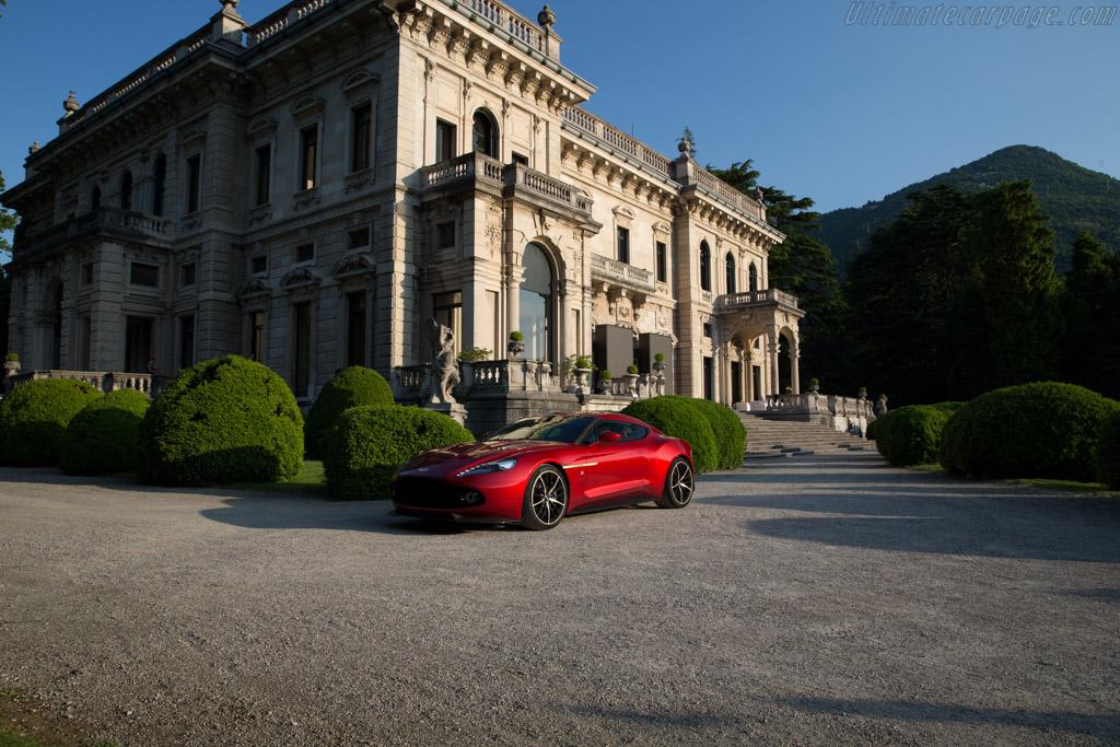 Aston Martin Vanquish Zagato Concept - Chassis: SCFLMCPZ9GGJ30000 - Entrant: Aston Martin  - 2016 Concorso d'Eleganza Villa d'Este