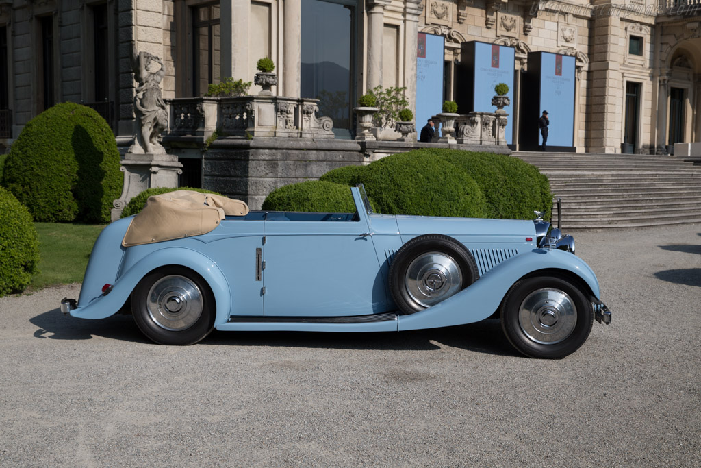 Bentley 4¼ Hooper Convertible - Chassis: B-7-JY - Entrant: Michael Kliebenstein  - 2016 Concorso d'Eleganza Villa d'Este