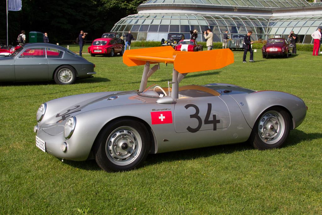 Porsche 550 Rs Chassis 550 0031 Entrant Ugo Gussalli