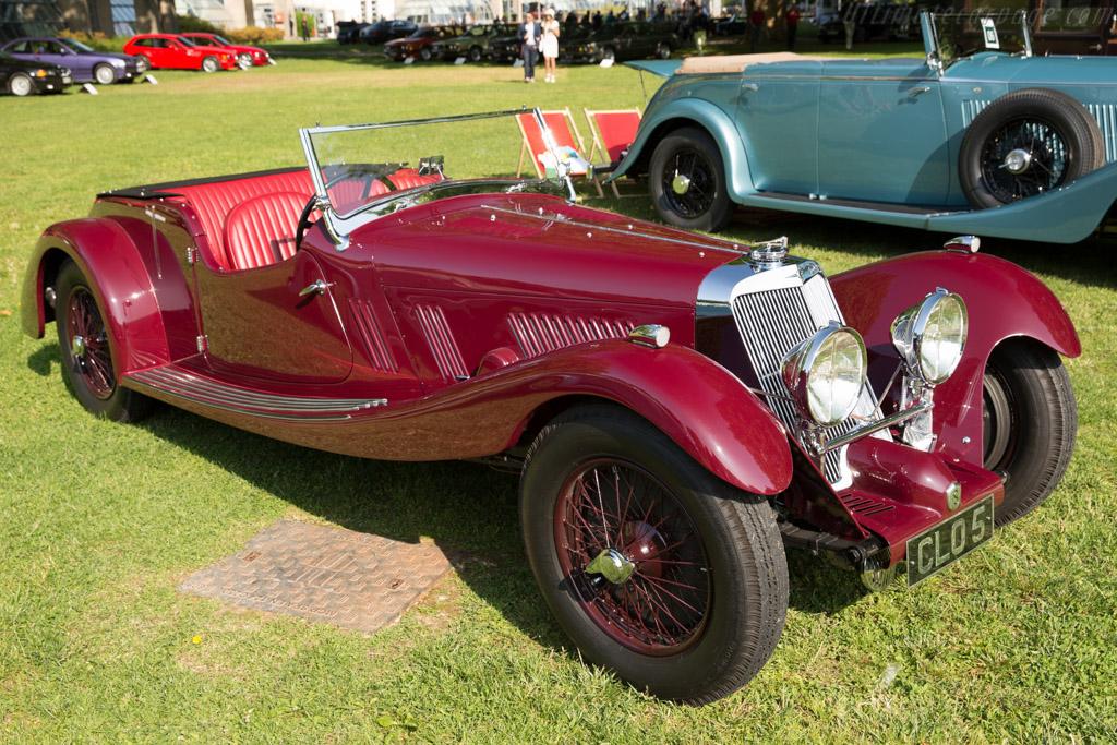 Squire 1500 Ranalagh Tourer - Chassis: 1501 - Entrant: Peter Neumark  - 2016 Concorso d'Eleganza Villa d'Este