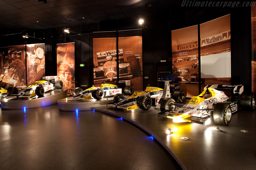Honda Years   - Four Decades of Williams in Formula 1