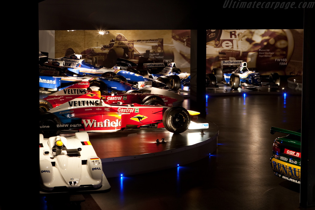 Welcome to the Williams Museum    - Four Decades of Williams in Formula 1