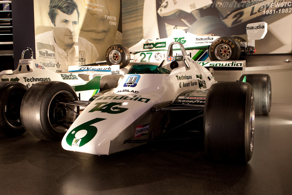 Williams FW08 Cosworth - Chassis: FW08-02  - Four Decades of Williams in Formula 1