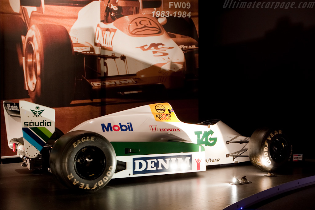 Williams FW09 Honda    - Four Decades of Williams in Formula 1