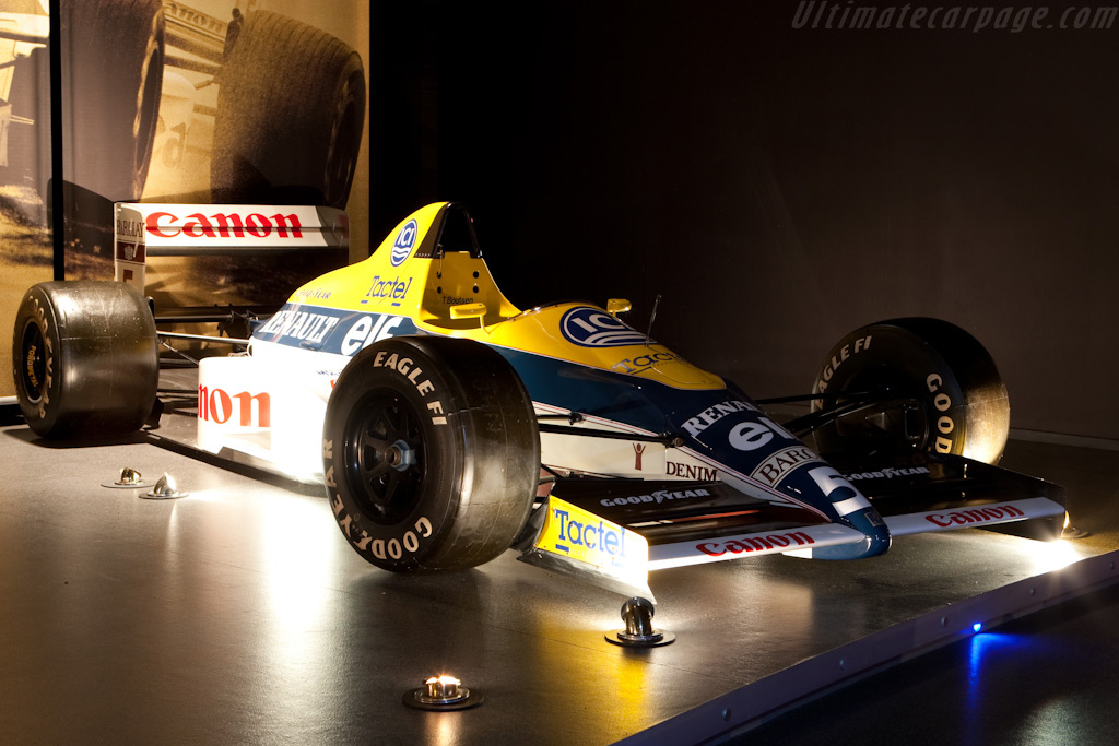 Williams FW12C Renault    - Four Decades of Williams in Formula 1