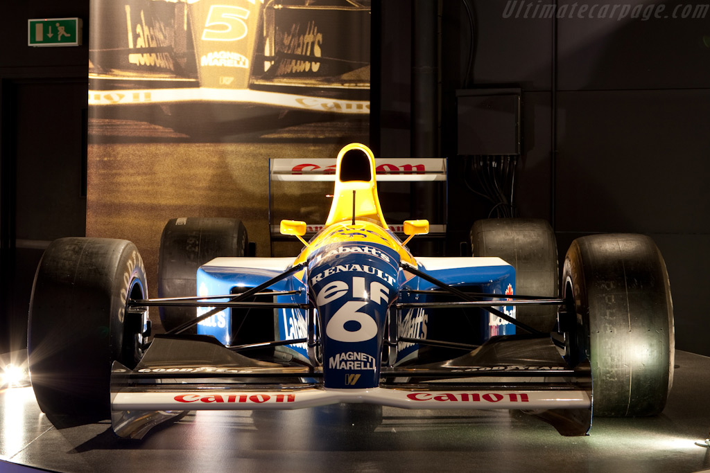 Williams FW14 Renault    - Four Decades of Williams in Formula 1