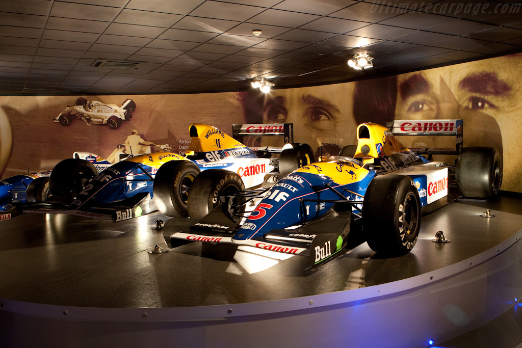 Williams FW14B and FW15C Renault    - Four Decades of Williams in Formula 1